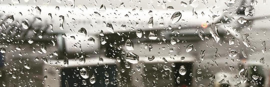 Rain at the Airport